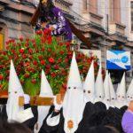 semana santa la paz (editorial only)