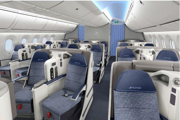Air europa lata for Interior 787 air europa
